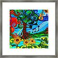 Magical Earth II Framed Print by Genevieve Esson