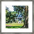 Magnolia Mansion Framed Print