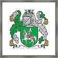 Maguire Coat Of Arms Irish Framed Print