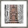 Main Door Huntly Castle - 7 Framed Print
