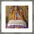 Maitreya Buddha Erdene Zuu Monastery Framed Print
