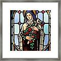 Majestic Mary Framed Print
