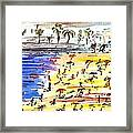 Majorca Playa Framed Print