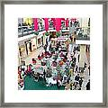 Mall Before Christmas Framed Print