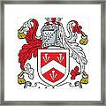 Malpas Coat Of Arms Irish Framed Print