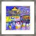 Mama Lenny And The Remedy At Road 34 Framed Print