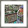 Manatee Color Framed Print