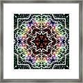 Mandala Cage Of Light Framed Print