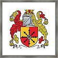 Mandeville Coat Of Arms Irish Framed Print