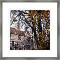 Manor Framed Print