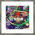 Mardi Gras Beads 1 Framed Print