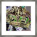 Mardi Gras Beads Framed Print