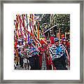 Mardi Gras In New Orleans Framed Print