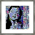 Marilyn Monroe 3 Loved.lost.loved Again Framed Print