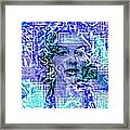 Marilyn Monroe Out Of The Blue Framed Print