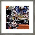 Marine And Wounded Warrior Framed Print