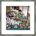 Market Fish Framed Print