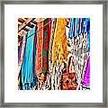 Market Hammocks In El Casco By Diana Sainz Framed Print