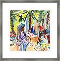 Market In Teguise In Lanzarote 03 Framed Print