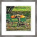 Market Wagon Framed Print