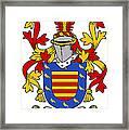 Marlay Coat Of Arms Irish Framed Print
