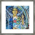 Mary Magdalene Watercolor Framed Print