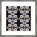 Mauve Beauty Pattern Framed Print