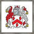 Maynard Coat Of Arms Irish Framed Print