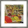 Mazatlan Centro Market-sinaloa Framed Print