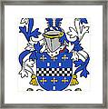 Mcaleese Coat Of Arms Irish Framed Print