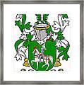 Mccaffrey Coat Of Arms Irish Framed Print