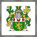 Mccartan Coat Of Arms Irish Framed Print
