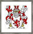 Mccawley Coat Of Arms Irish Framed Print