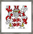 Mcclancy Coat Of Arms Irish Framed Print