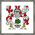 Mccluskie Coat Of Arms Irish Framed Print
