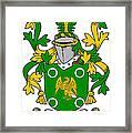 Mcconville Coat Of Arms Irish Framed Print