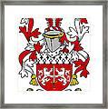 Mccorcoran Coat Of Arms Irish Framed Print