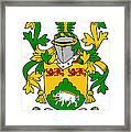 Mcdonogh Coat Of Arms Irish Framed Print