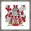 Mcfinucane Coat Of Arms Irish Framed Print