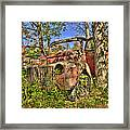 Mcleans Auto Wrecker - 1 Framed Print