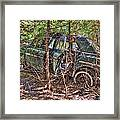 Mcleans Auto Wrecker - 14 Framed Print