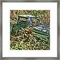 Mcleans Auto Wrecker - 5 Framed Print