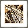 Mcs Detail Framed Print