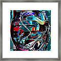 Mechanical Sphere Framed Print
