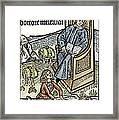 Medical Teaching, 1487 Framed Print