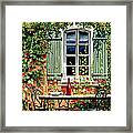 Mediterranean Memories - Oil Framed Print