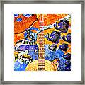 Melodies And Sunset Seas Framed Print