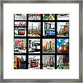 Memphis Trolleys Framed Print