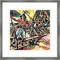 Men Of The Jolly Roger Framed Print by Ron Embleton