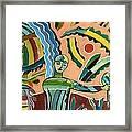 Menino Na Amazonia I Framed Print